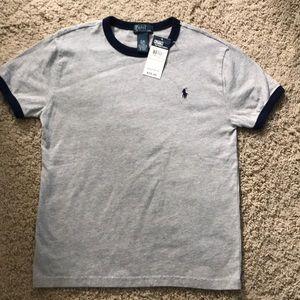 NWT, boys Polo t-shirt size 8
